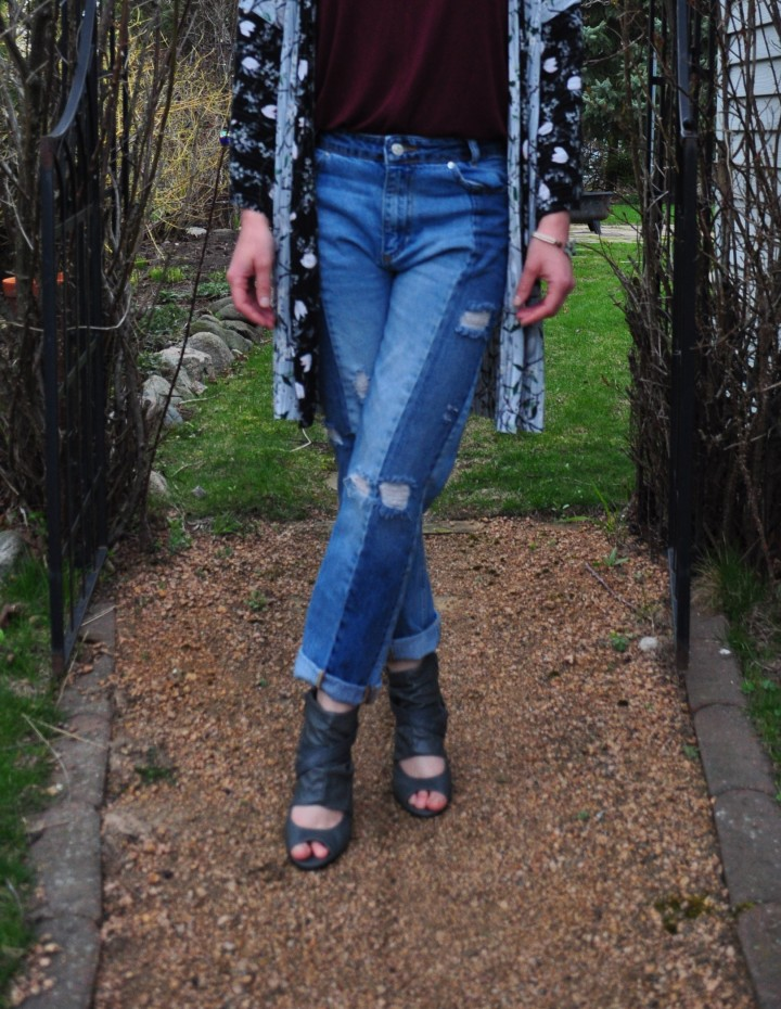 Two-Toned Denim: The Patchwork Skinny by FreePeople