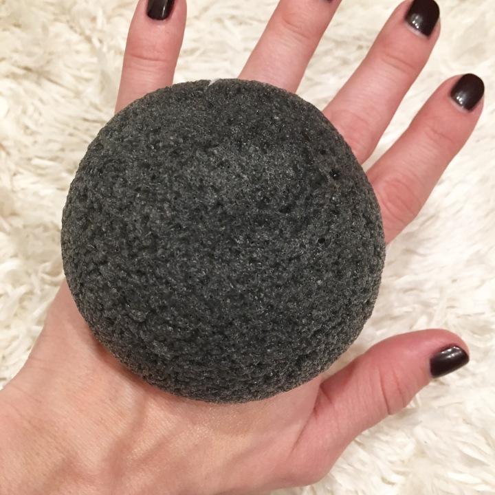100% Pure Charcoal KonjacSponge