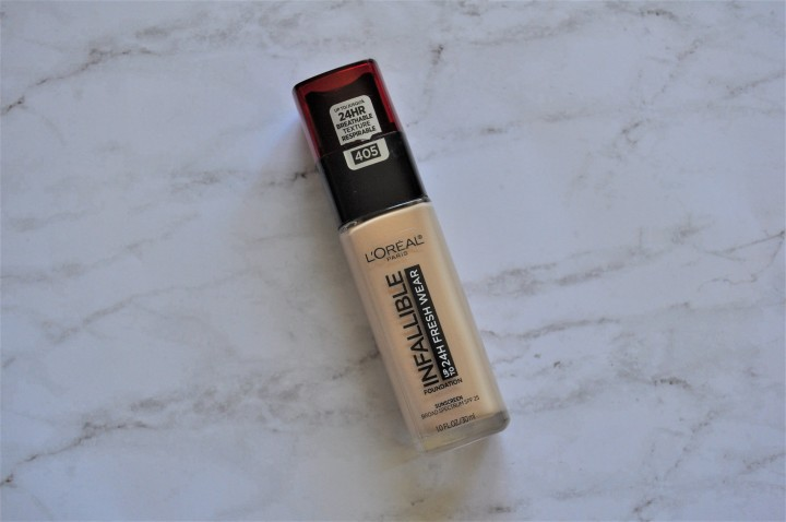 L'Oreal Infallible Fresh Wear Foundation | The 12-Hour Test