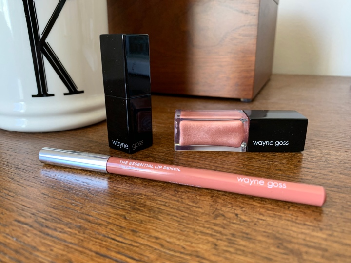 Wayne Goss Lipstick, Liner, and Gloss