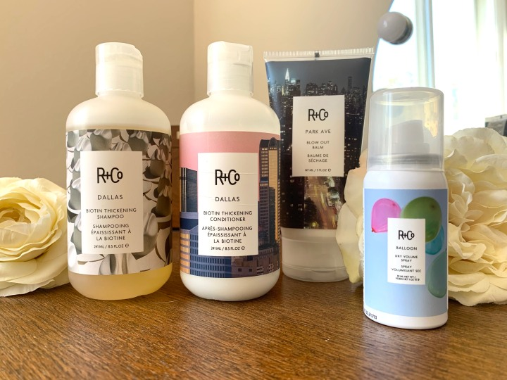 Upping My Hair Care Wardrobe with R+Co